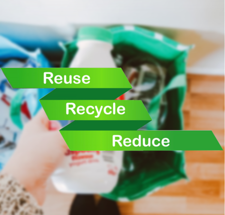 How can RFID help achieve recycling targets?